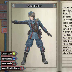 Valkyria Chronicles - Gunther