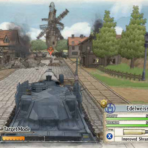 Valkyria Chronicles - Tank Target Mode