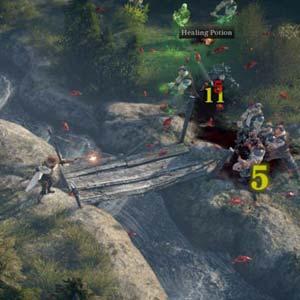 The Incredible Adventures of Van Helsing - Battle