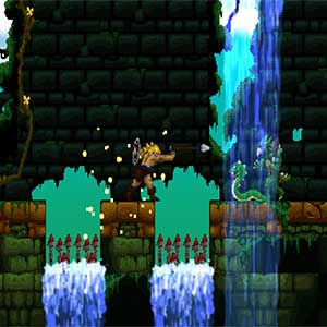 Volgarr the Viking The Jungle level