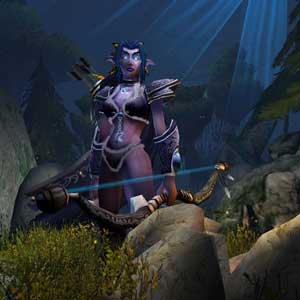 Warcraft 3 Reign of Chaos Tyrande Whisperwind Night Elf