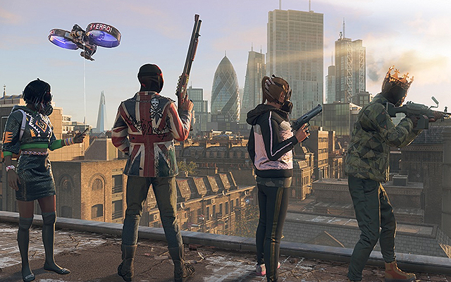 Watch Dogs: Legion Characters