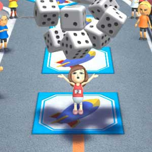Wii Party U Nintendo Wii U Dice
