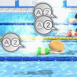 Wii Party U Nintendo Wii U Swimming