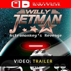 Willy Jetman Astromonkey's Revenge Nintendo Switch Prices Digital or Box Edition