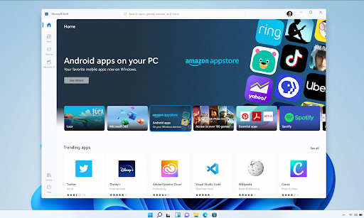 how do I download Android apps on Windows 11?