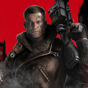 Wolfenstein The New Order PS4 William - BJ Blazkowicz