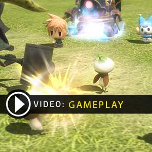World of Final Fantasy PS4 Gameplay Video