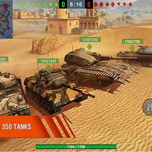 massive tanks