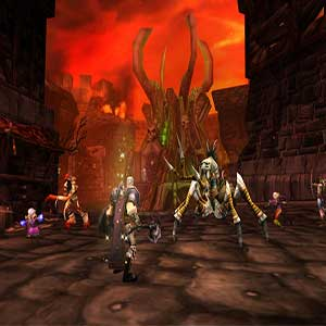 World of Warcraft Classic battle
