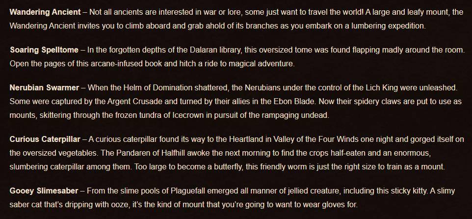 World of Warcraft Shadowlands Concept Description