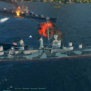 World of Warship gameplay