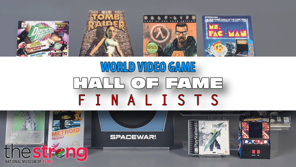World Video Game Hall Of Fame Banner