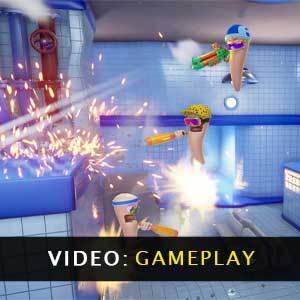 Worms Rumble Video Gameplay