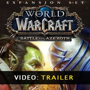 WoW Battle for Azeroth Expansion trailer video