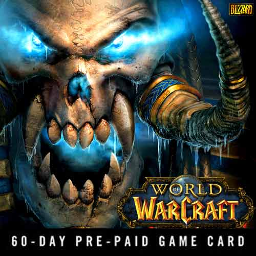 Buy Gamecard World Of Warcraft 60 Days Prepaid Time Card best price