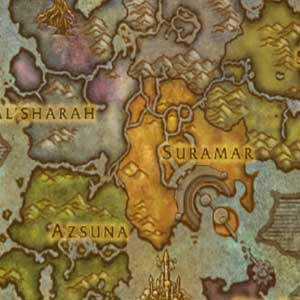 The Broken Isles Map