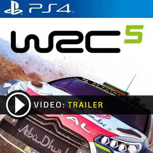 WRC 5 PS4 Prices Digital or Box Edition