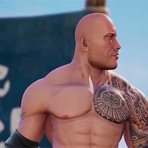 WWE 2K Battlegrounds The Rock