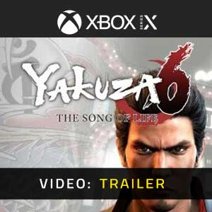 Yakuza 6 The Song of Life Xbox Series Video Trailer