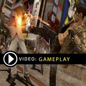 Yakuza Kiwami PS4 Gameplay Video