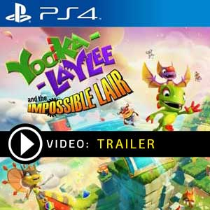 Yooka Laylee and the Impossible Lair PS4 Prices Digital or Box Edition