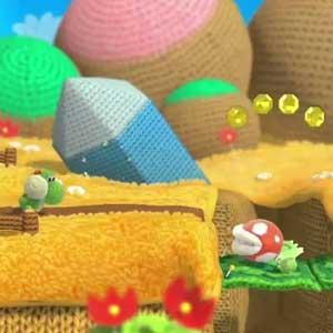 Yoshis Woolly World Nintendo Wii U Gameplay