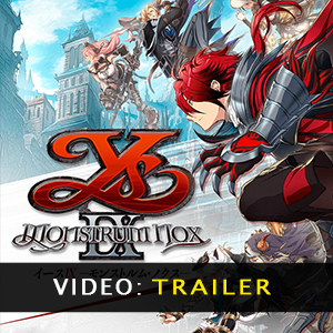 Ys IX Monstrum Nox Video Trailer